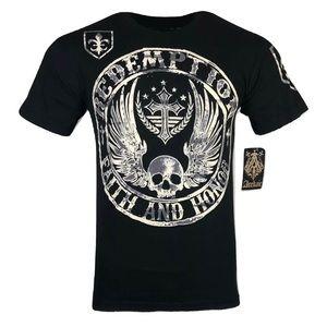 ARCHAIC AFFLECTION Mens T-Shirt MIDKNIGHT Premium